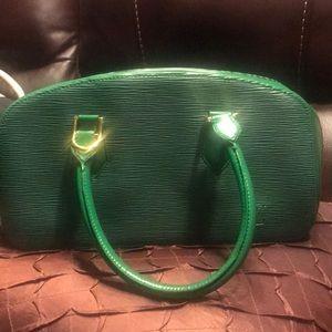 Handbags - Louis VUITTON Speedy Cité Vintage Leather Hobo Bag